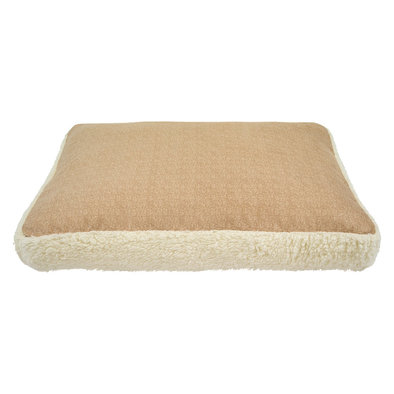 Slab Bed - Faux Solid Cream