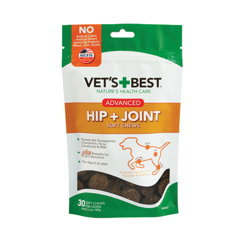 View larger image of Advanced Hip + Joint Soft Chews - 30 ct