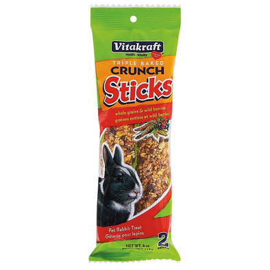 Crunch Sticks, Rabbit, Whole Grains & Wild Berries - 4 oz