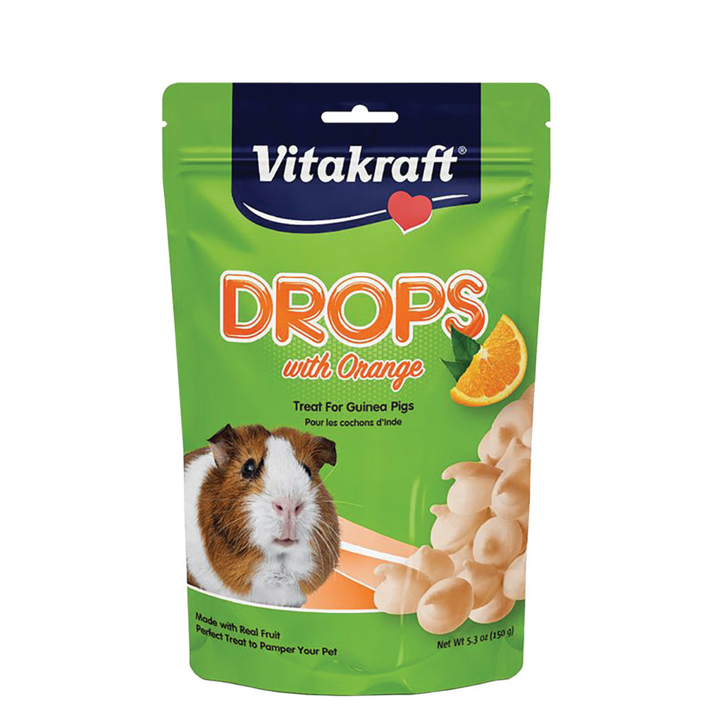 View larger image of Guinea Pig Drops with Orange - 5.3 oz