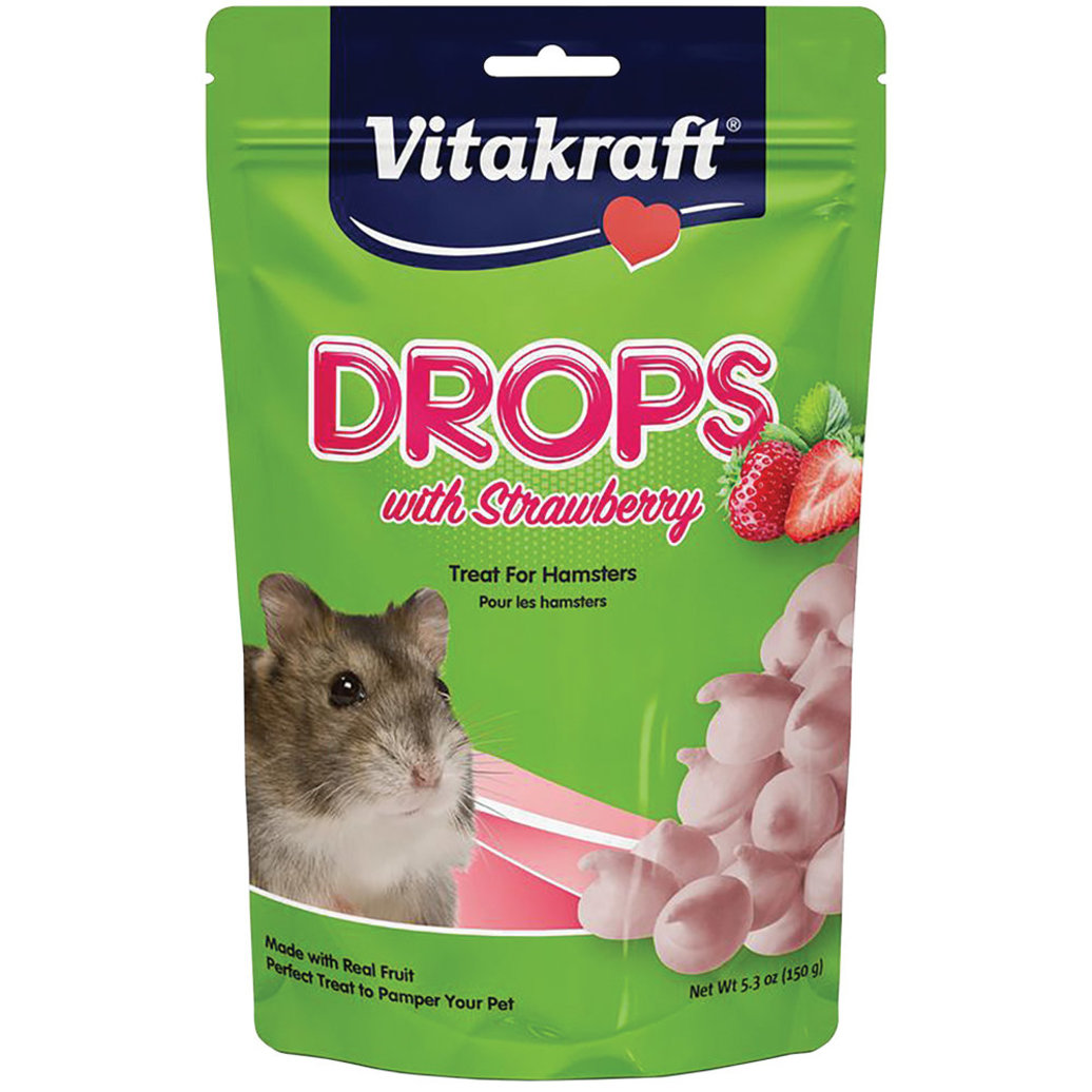 View larger image of Hamster Drops with Strawberry - 5.3 oz