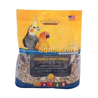 SunSations Cockatiel & Conure Formula - 3.5 lb