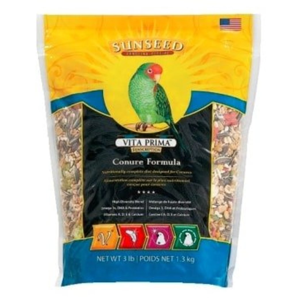 View larger image of Vitakraft,  Vita Prima Conure Formula - 3 lb