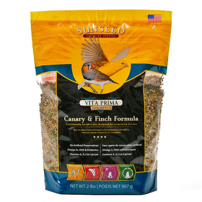 Vita Prima Canary, Finch Diet - 2 lb