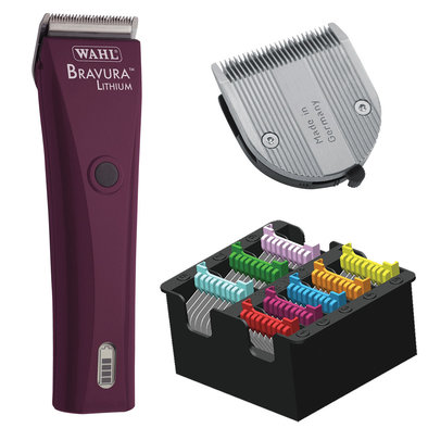 Lithium Bravura w/ Comb Set & 5 in 1 Blade - Purple