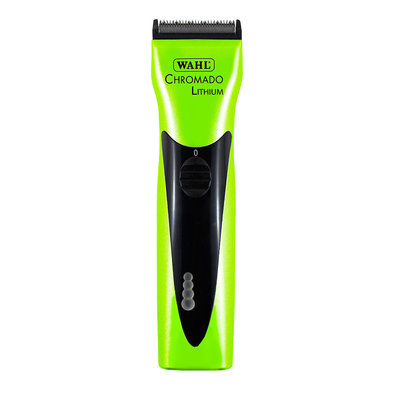 Lithium Chromado Cordless Clipper - Green