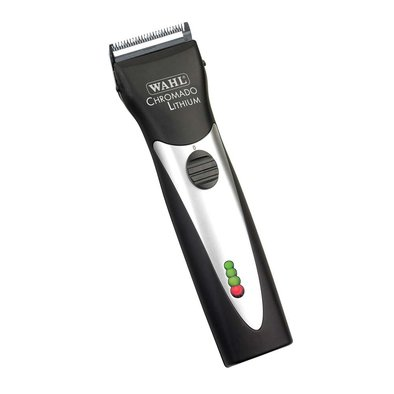 Lithium Chromado Cordless Clipper - Black
