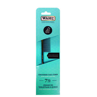 "Pro Groomer Tail Comb for Coarse Coats - 7 1/2"" - 31 Pins"