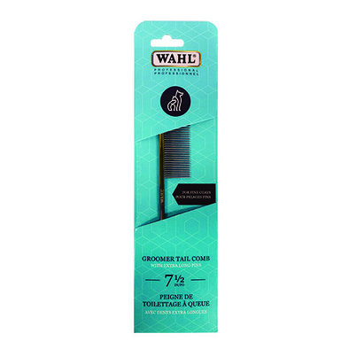 "Pro Groomer Tail Comb for Fine Coats - 7 1/2"" - 45 Pins"