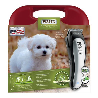 Pro Ion-Cordless Lithium Battery Pet Clipper Kit
