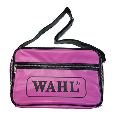 Retro Shoulder Bag - Black & Pink