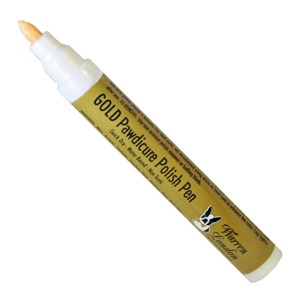 View larger image of Pawdicure Polish Pen - Gold - 16 oz