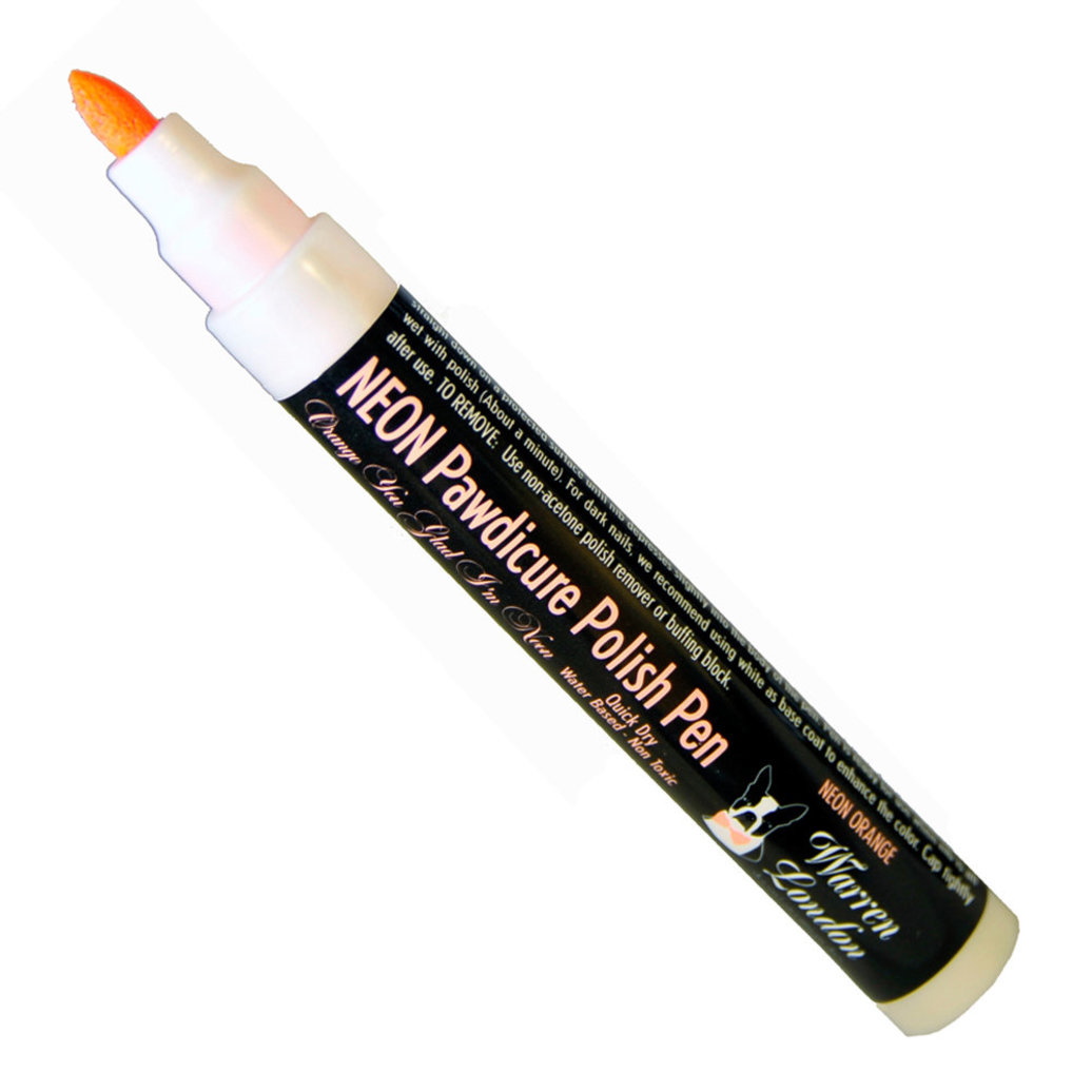 View larger image of Polish Pen - Neon Orange - 16 oz