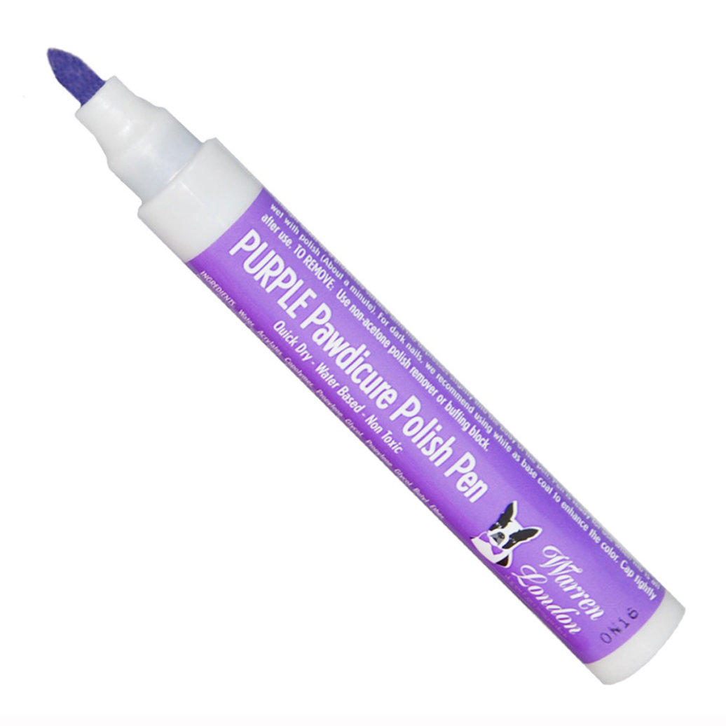 View larger image of Polish Pen - Purple - 16 oz