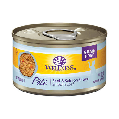 Canned Cat Food, Complete Health, Beef & Salmon