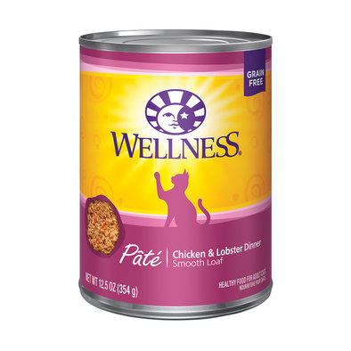 Canned Cat Food, Complete Health, Chicken & Lobster