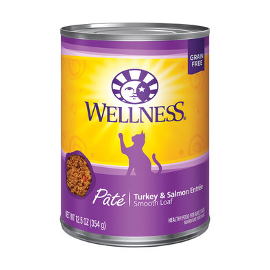 Canned Cat Food, Complete Health, Turkey & Salmon