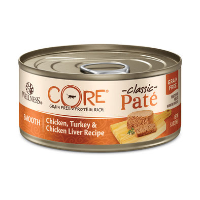 Canned Cat Food, Core Grain Free, Chicken, Turkey & Chicken Liver - 5.5 oz