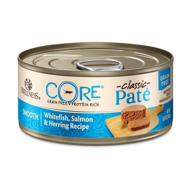 Canned Cat Food, Core Grain Free, Salmon, Whitefish & Herring - 5.5 oz