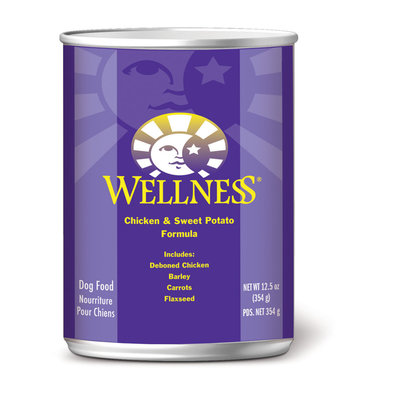 Canned Dog Food, Complete Health, Chicken & Sweet Potato