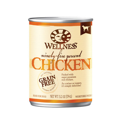 Canned Dog Food, Mixers & Toppers, 95% Chicken - 13 oz
