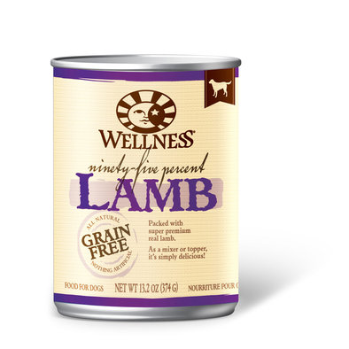Canned Dog Food, Mixers & Toppers, 95% Lamb - 13 oz