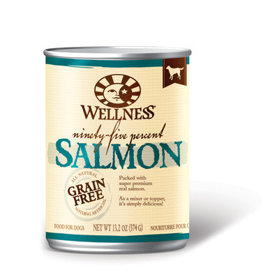 Canned Dog Food, Mixers & Toppers, 95% Salmon - 13 oz