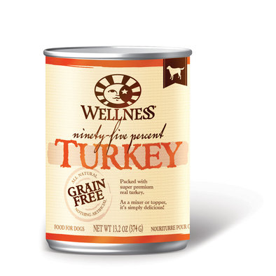 Canned Dog Food, Mixers & Toppers, 95% Turkey - 13 oz