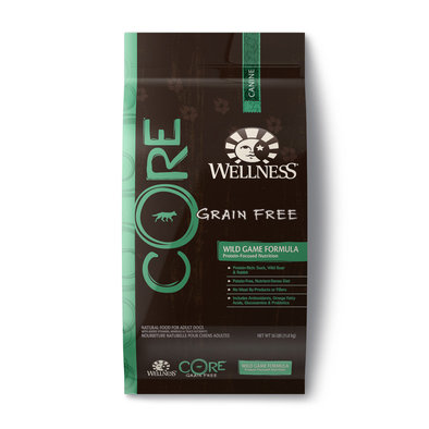 Core, Grain Free Wild Game - 26 lb