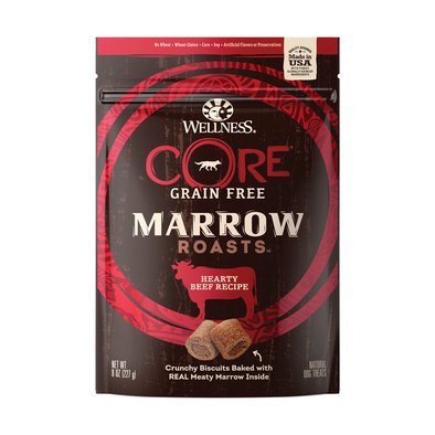 CORE, Marrow Roasts, Beef Dog Treats - 8 oz