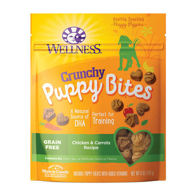 Just for Puppy, Chkn&Carrots Crunchy Treats - 6 oz