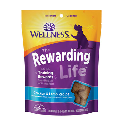Wellbites, Chicken & Lamb Soft Dog Treats - 6 oz
