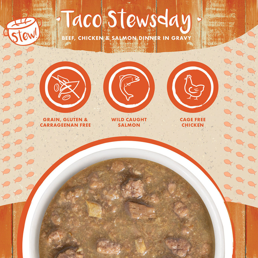 View larger image of Can, Feline Adult - Taco Stewsday