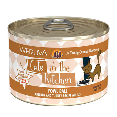 Can Feline  - Fowl Ball - Chicken&Turkey-170g