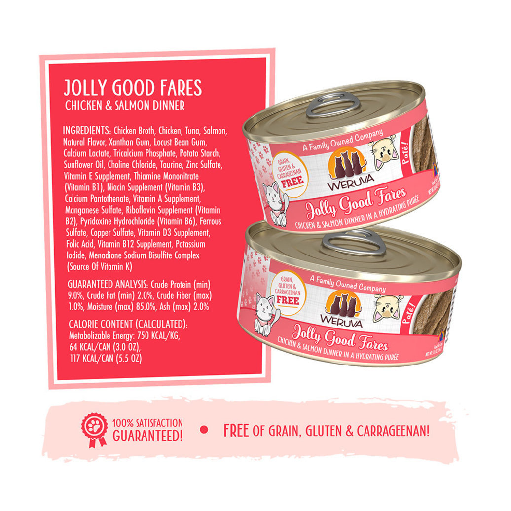 View larger image of Can Feline - Jolly Good Fares - Chicken & Salmon - 156 g