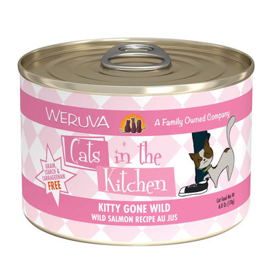 Can Feline  -Kitty Gone Wild-Wild Salmon-170g