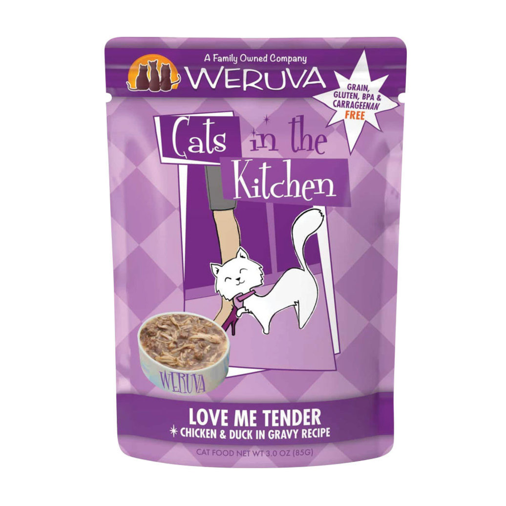 View larger image of Can Feline  - Love Me Tender-Chicken&Duck-85g