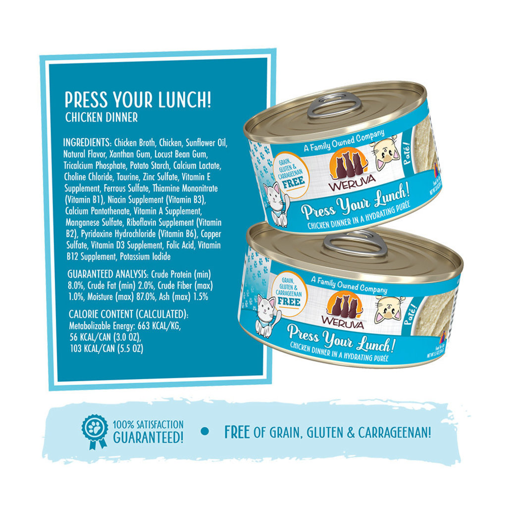 View larger image of Can Feline - Press Your Lunch - Chicken - 156 g