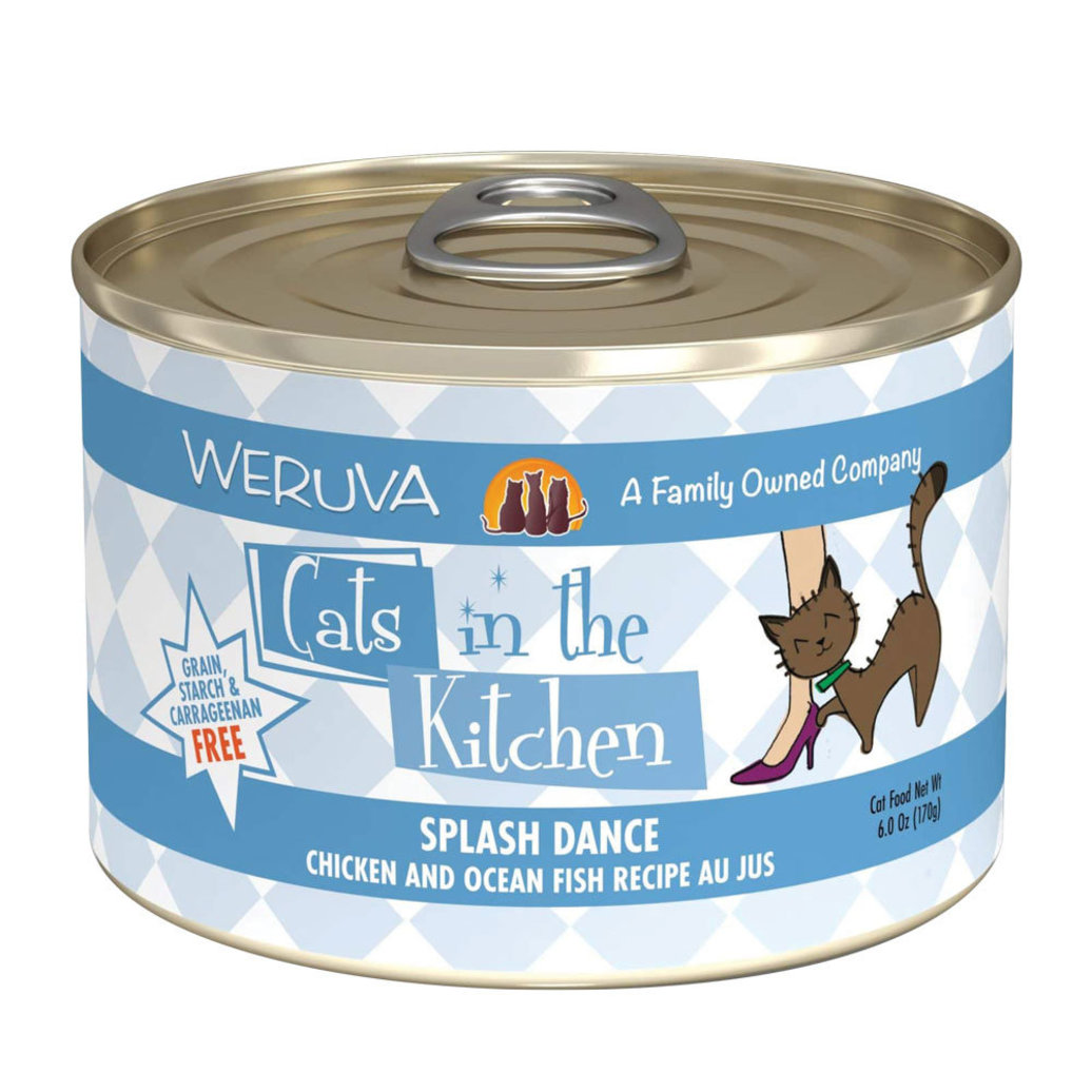 View larger image of Can Feline -Splash Dance-Ckn&Ocean Fish-170g