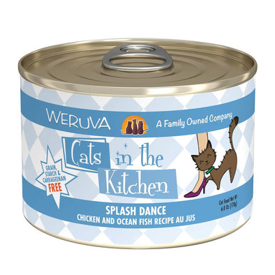 Can Feline -Splash Dance-Ckn&Ocean Fish-170g