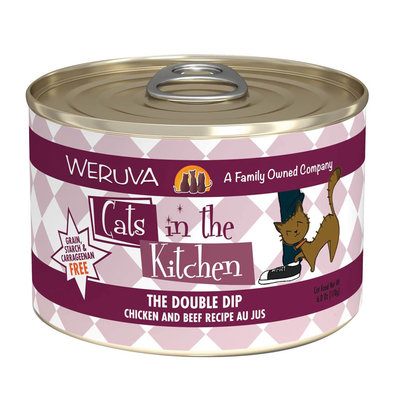 Can Feline  - The Double Dip-Chkn&Beef - 170g