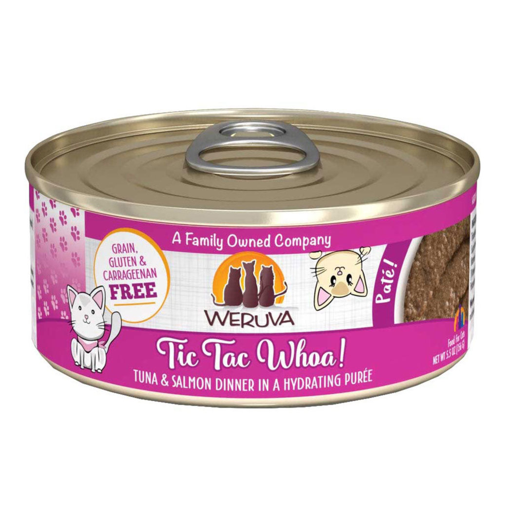 View larger image of Can Feline - Tic Tac Whoa - Tuna & Salmon - 156 g