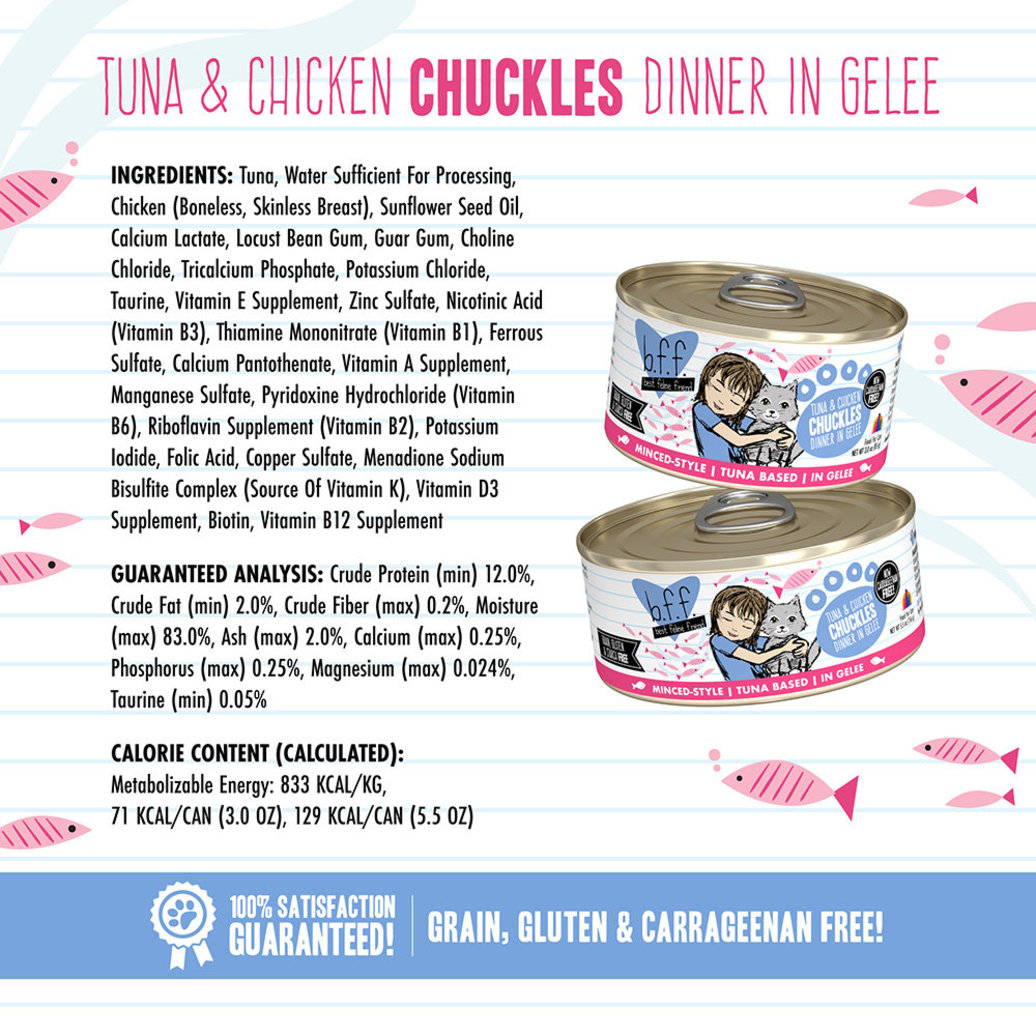 View larger image of Can Feline  - Tuna & Chicken Chuckles-156 g