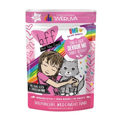 Can Feline  - Tuna & Duck Devour Me - 85 g