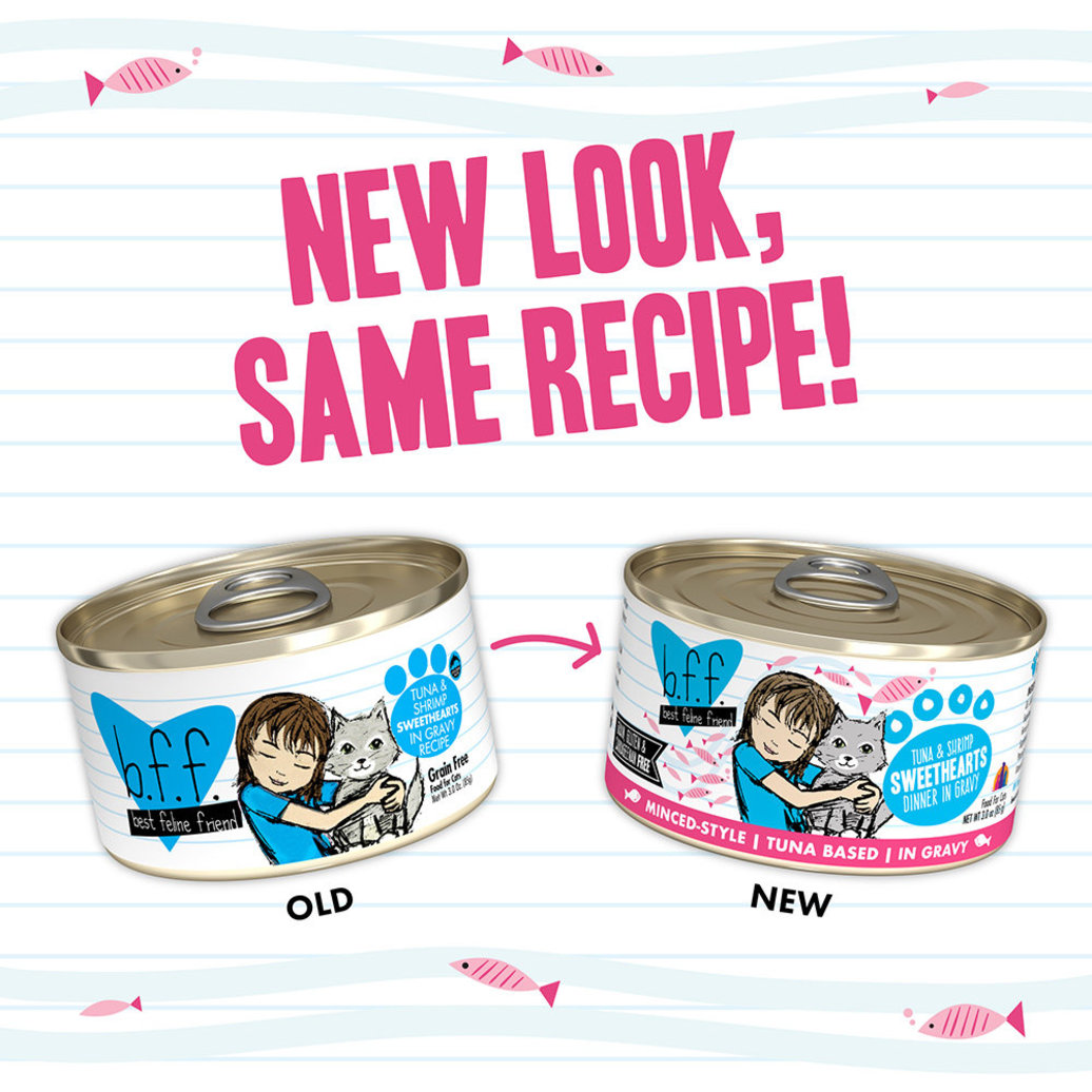 View larger image of Can Feline  - Tuna & Shrimp Sweethearts-156 g