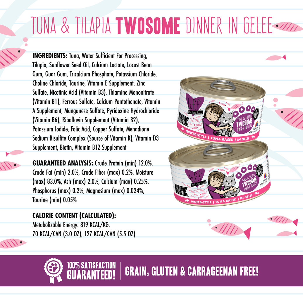 View larger image of Can Feline  - Tuna & Tilapia Twosome - 156 g