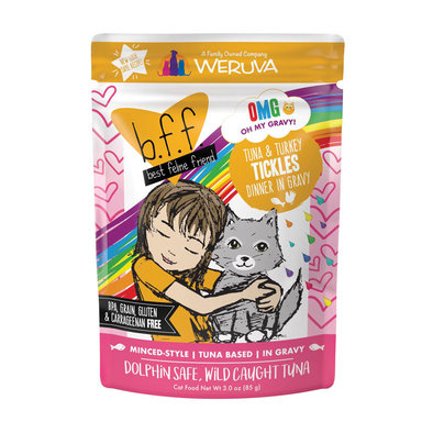 Can Feline  - Tuna & Turkey Tickles - 85 g