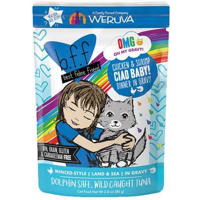 Pouch, Feline Adult - Chicken & Shrimp - 80 g
