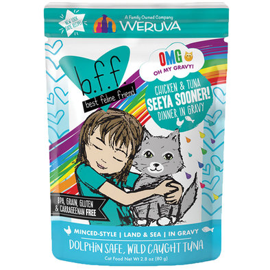 Pouch, Feline Adult - Chicken & Tuna - 80 g