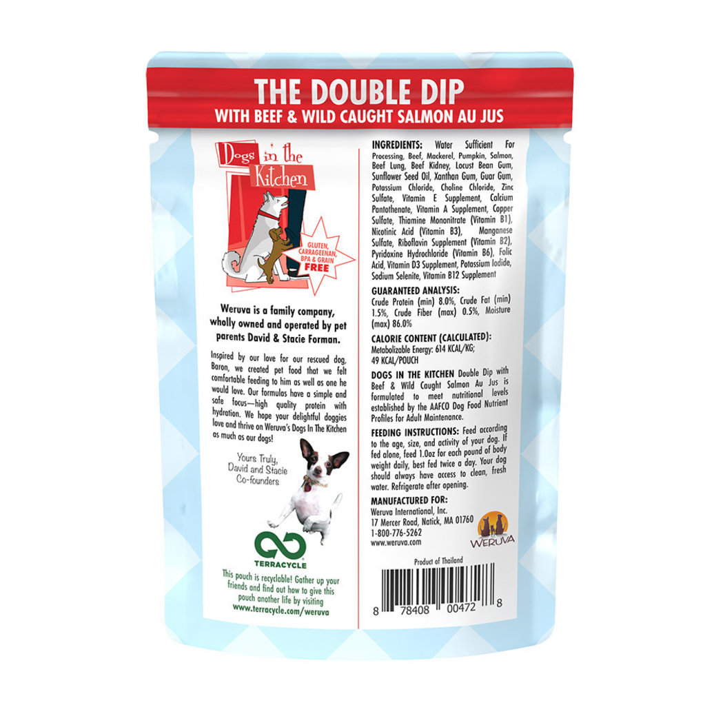 View larger image of Pouch, Adult - Double Dip - 80 g